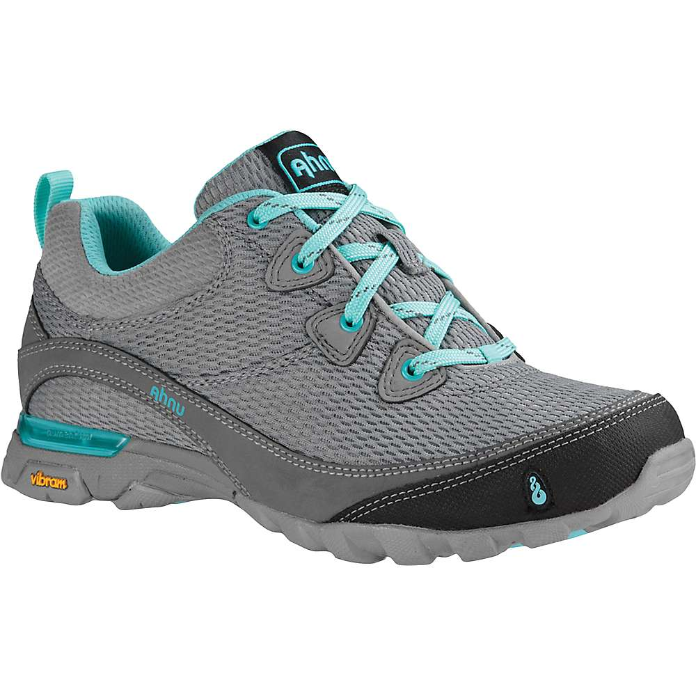 Ahnu Women's Sugarpine Air Mesh Shoe - 6 - Medium Grey