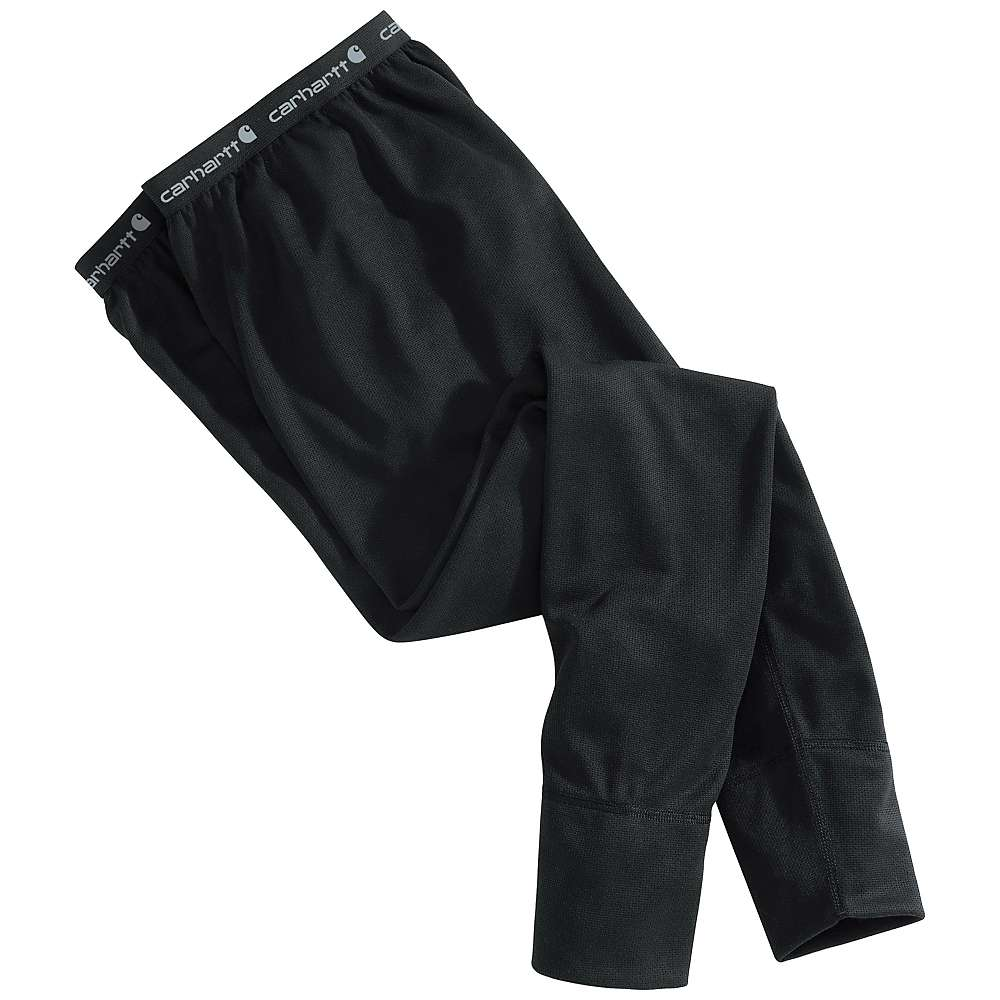 Carhartt Men's Base Force Cold Weather Bottom – XL – Regular – Black