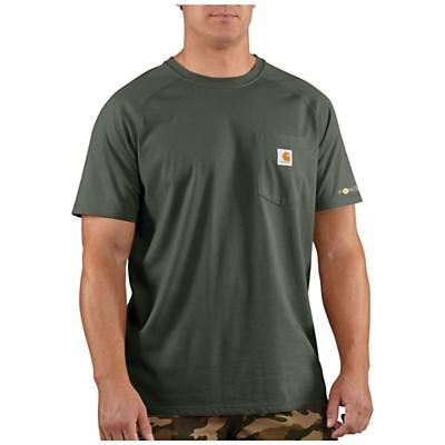 Carhartt Force Cotton Delmont SS T-Shirt - Moss - Men