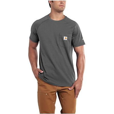 Carhartt Force Cotton Delmont SS T-Shirt - Carbon Heather - Men