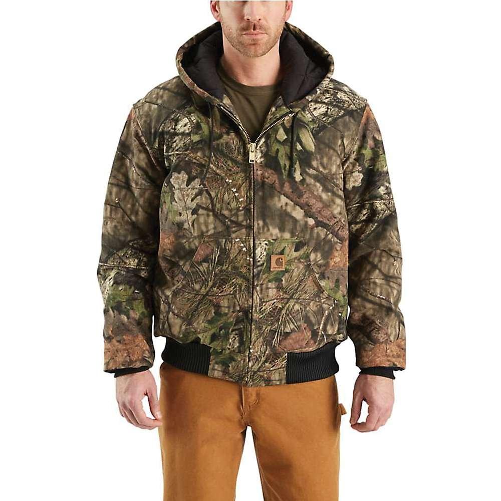 Carhartt Men's Quilted Flannel Lined Workcamo Active Jacket - Medium Regular - Mossy Oak Break-Up Country thumbnail