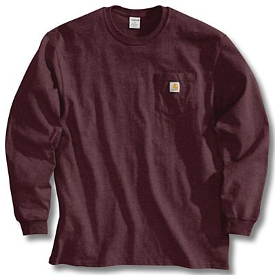 Carhartt Workwear Pocket Long Sleeve T-Shirt - Port - Men