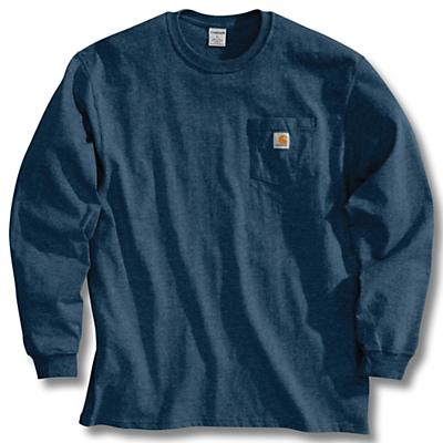 Carhartt Workwear Pocket Long Sleeve T-Shirt - Navy - Men