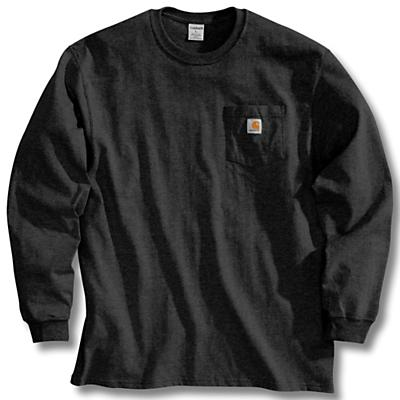 Carhartt Workwear Pocket Long Sleeve T-Shirt - Black - Men