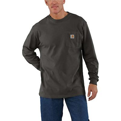 Carhartt Workwear Pocket Long Sleeve T-Shirt - Peat - Men