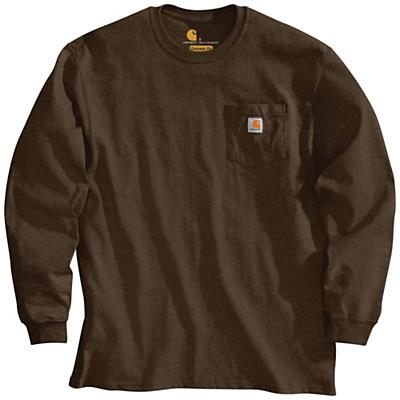 Carhartt Workwear Pocket Long Sleeve T-Shirt - Dark Brown - Men