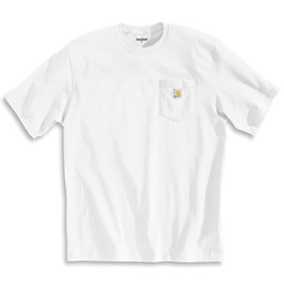 Carhartt Workwear Pocket SS T Shirt - White - Men