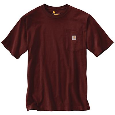 Carhartt Workwear Pocket SS T Shirt - Port - Men