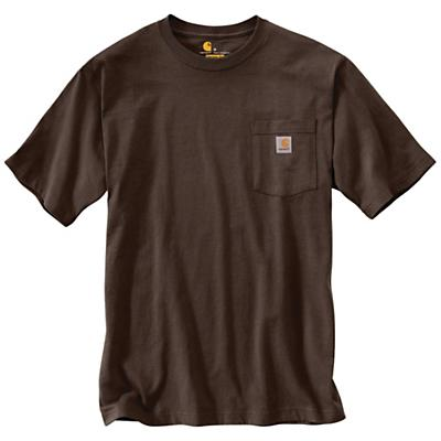 Carhartt Workwear Pocket SS T Shirt - Dark Brown - Men