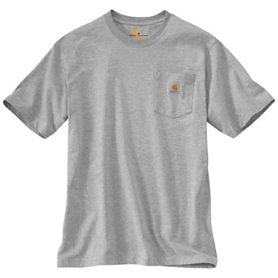 Carhartt Workwear Pocket SS T Shirt - Heather Grey - Men