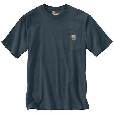 Carhartt Workwear Pocket SS T Shirt - Bluestone - Men