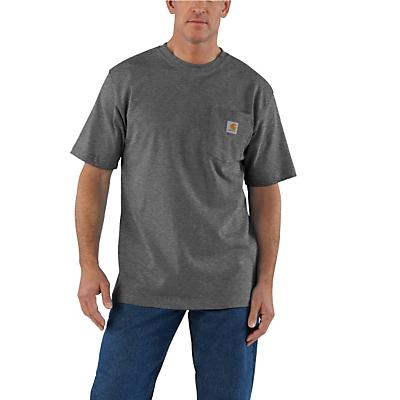 Carhartt Workwear Pocket SS T Shirt - Carbon Heather - Men