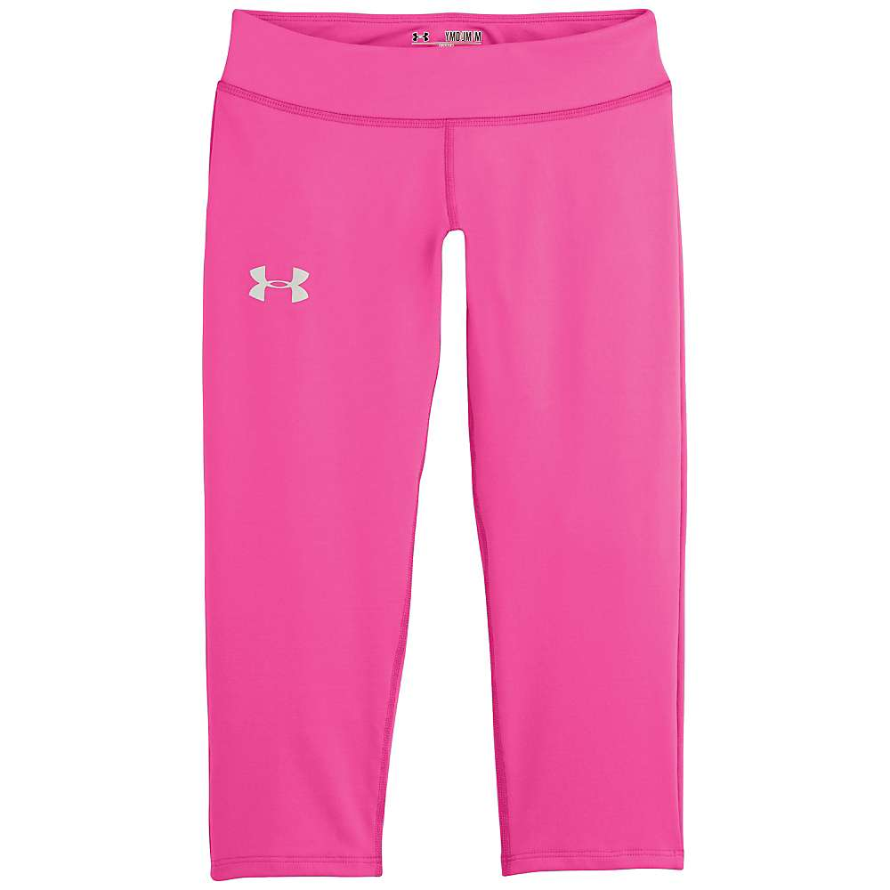 Under Armour Girls' UA Alpha Capri - XL - Chaos / Chaos / Silver