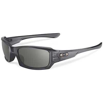 Oakley Fives Squared Sunglasses - Grey Smoke / Warm Grey