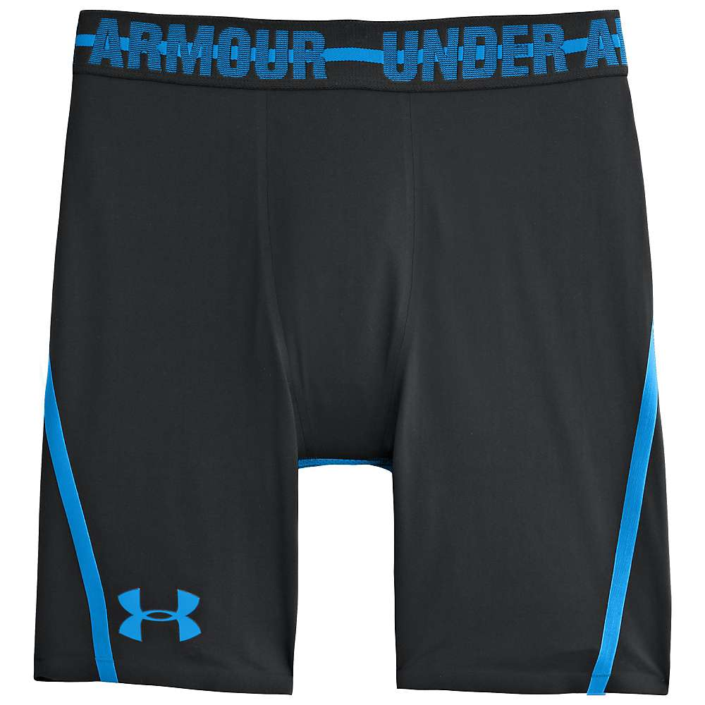 Under Armour Men's Heatgear Armour Stretch Short - XL - Black / Electric Blue