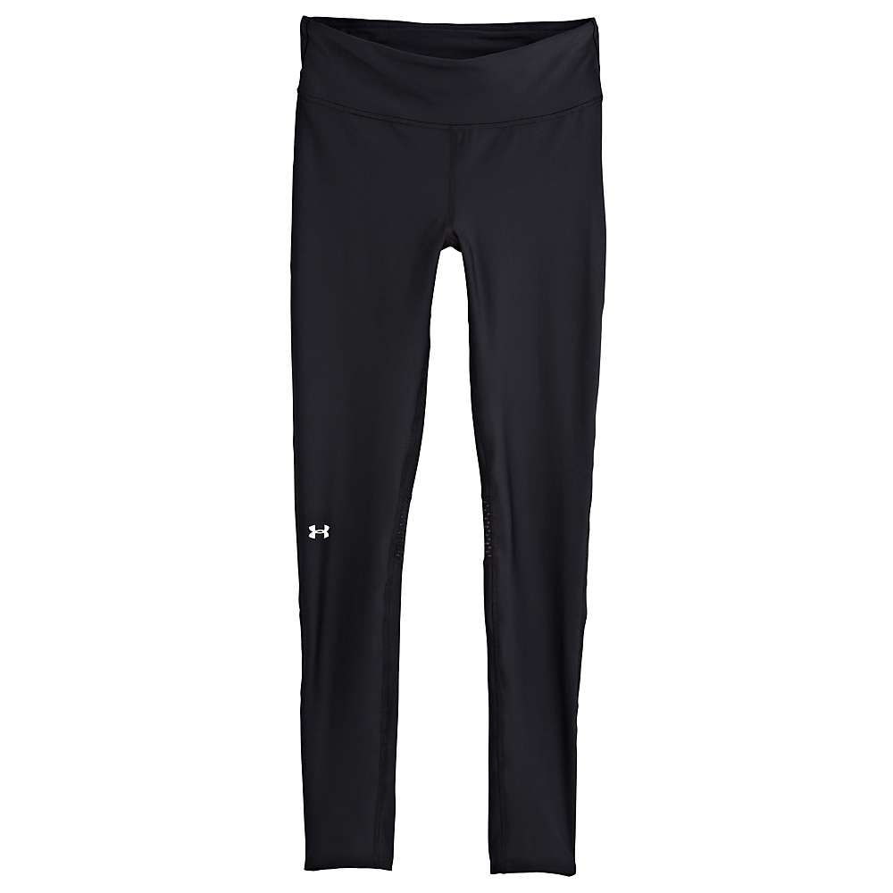 Under Armour Women's Fly By Compression Legging - XS - Black / Black / Reflective