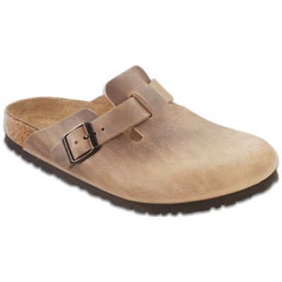 Birkenstock Boston Clog - Tobacco Oiled Leather