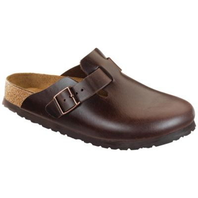 Birkenstock Boston Soft Footbed Clog - Brown Amalfi Leather