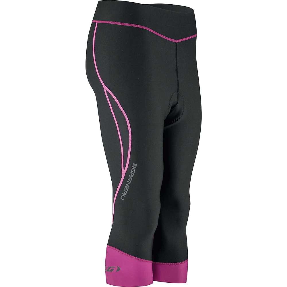 Louis Garneau Women's Pro Knickers - XL - Black / Purple / Pink Glow