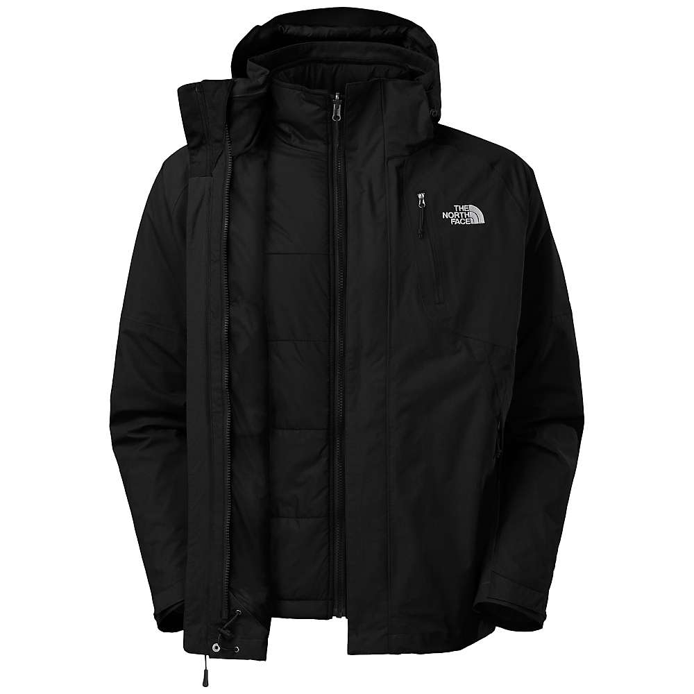The North Face Men's Carto Triclimate Jacket - Large - TNF Black / TNF Black