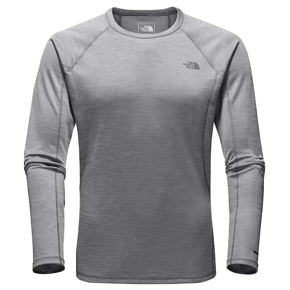 The North Face Men's Light L/S Crew Neck - Small - Zinc Grey Heather