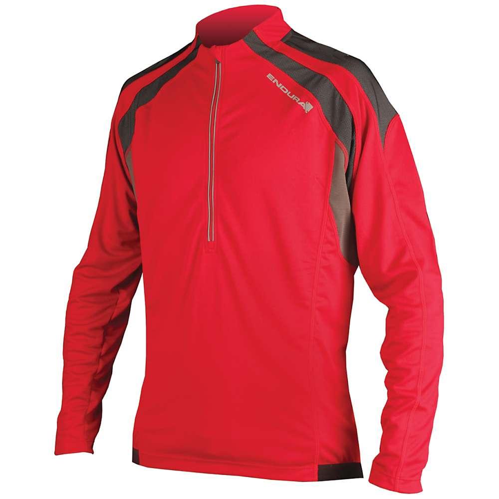 Endura Men's Hummvee Long Sleeve Jersey - Small - Red