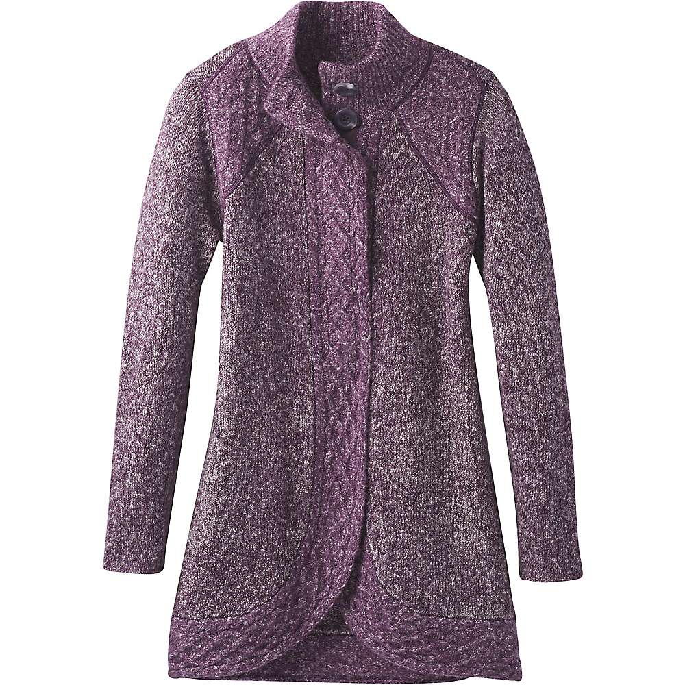 Prana Women's Angelica Duster - XS - Dark Plum