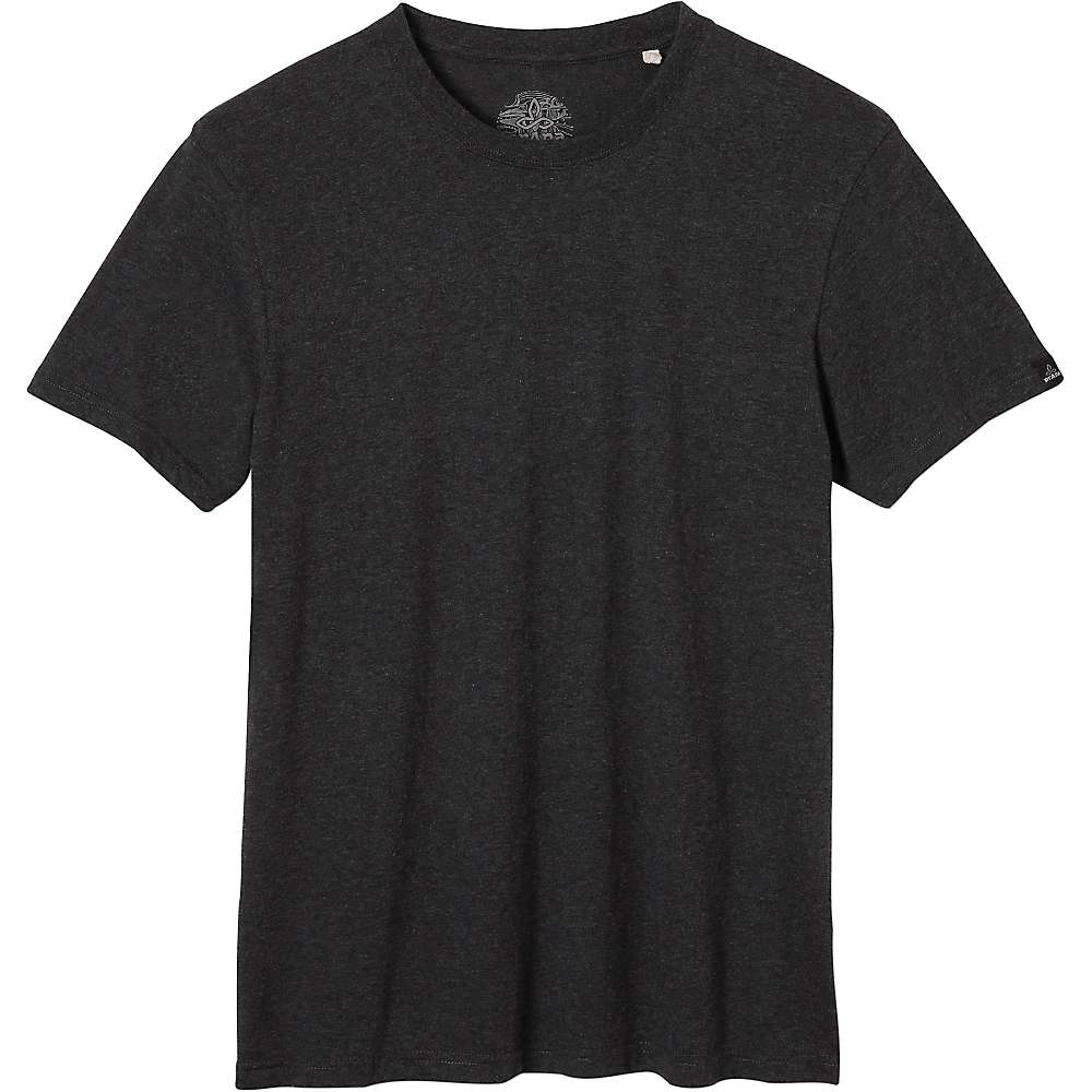 Prana Men's Crew Tee - XL - Charcoal Heather