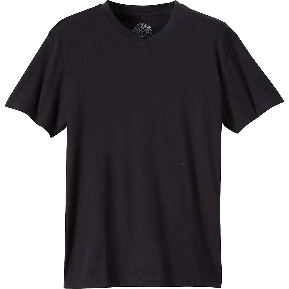Prana Men's V-Neck Tee - XL - Black