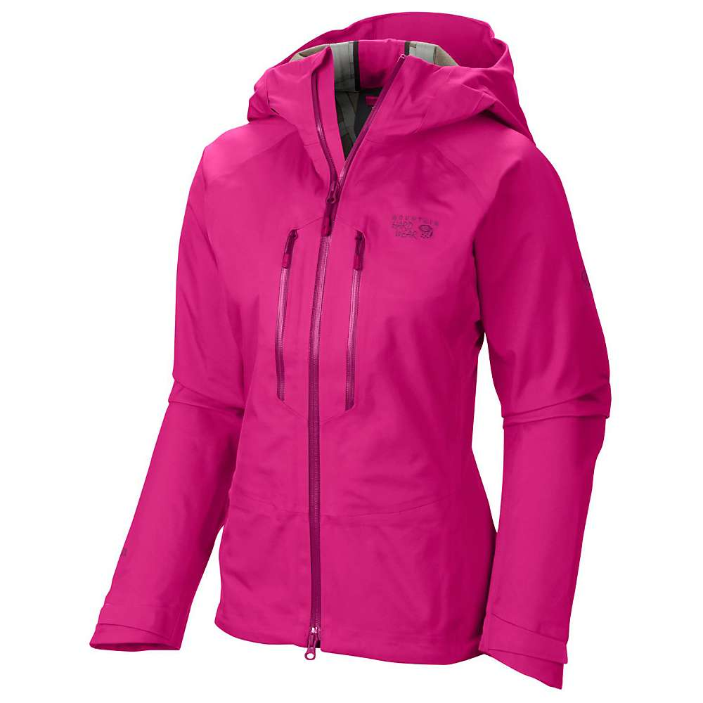 Mountain Hardwear Women's Alchemy Jacket - Large - Haute Pink
