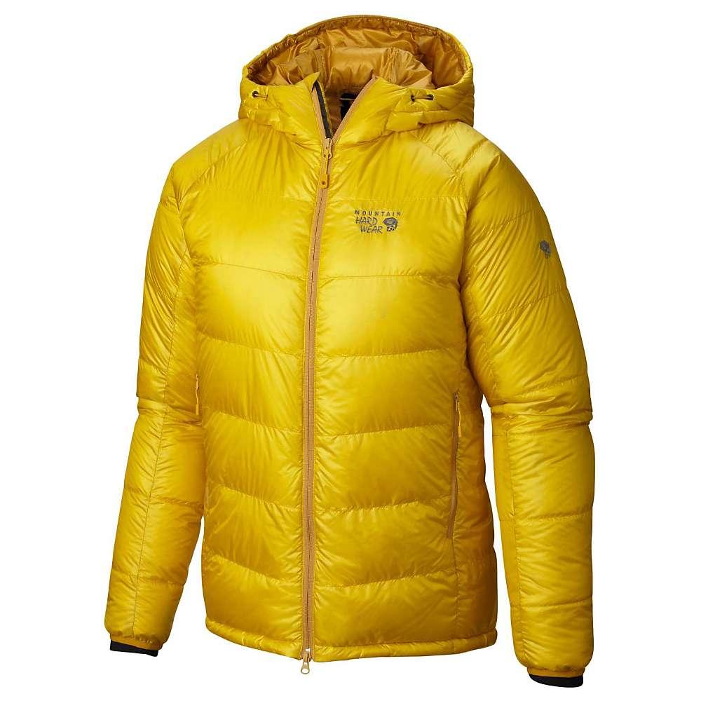 Mountain Hardwear Men's Phantom Hooded Down Jacket - Large - Electron Yellow