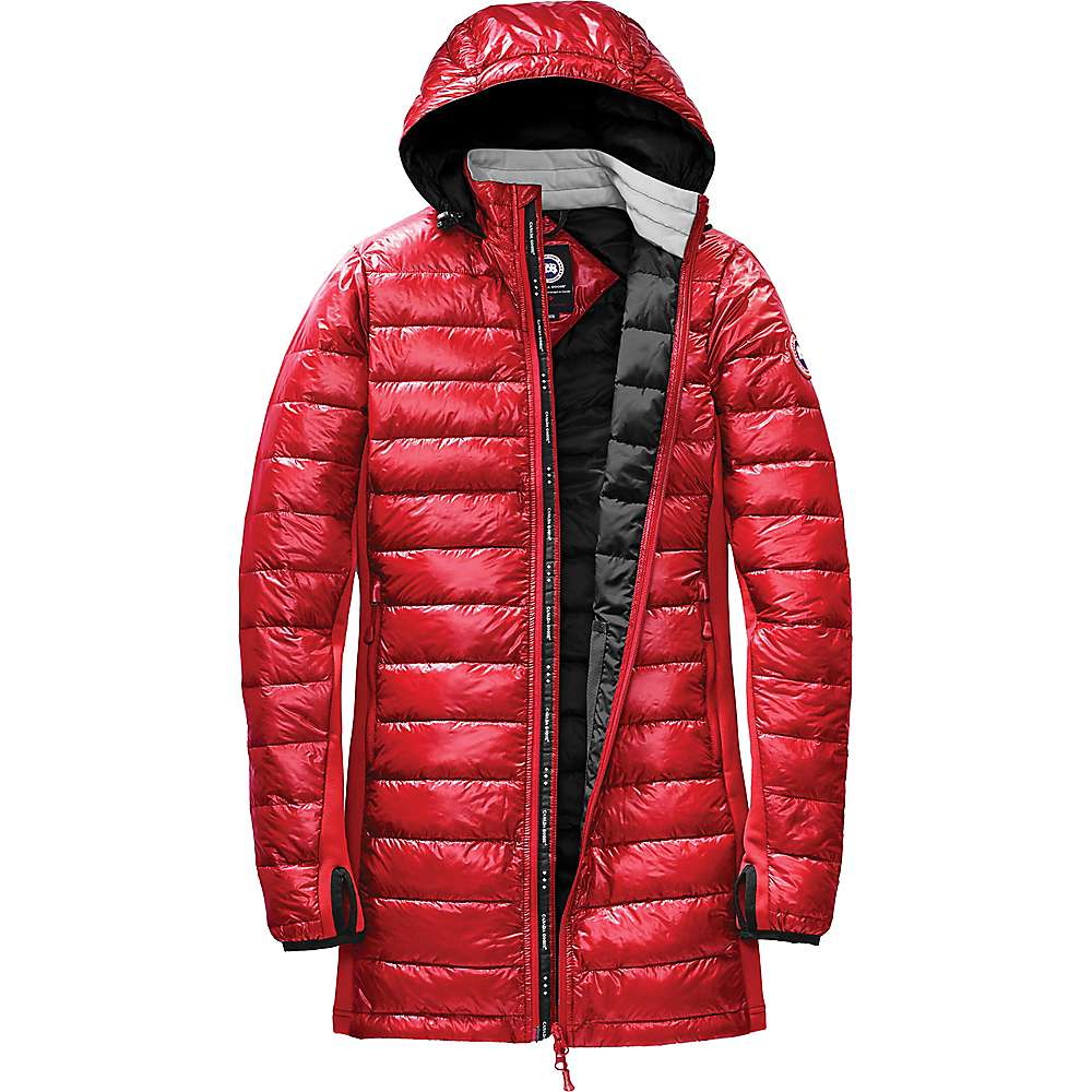 Canada Goose Women's Hybridge Lite Coat - Large - Red / Black