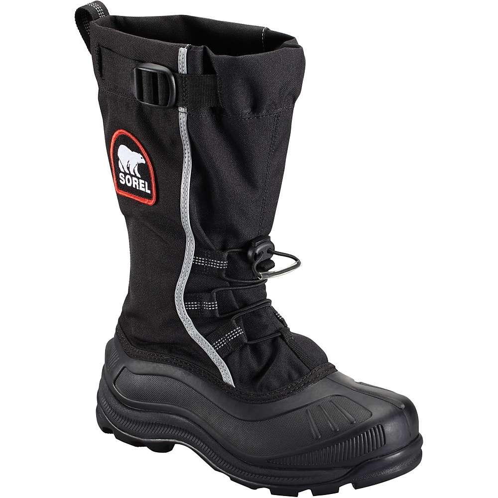 Sorel Women's Alpha Pac XT Boot - 6 - Black / Red Quartz