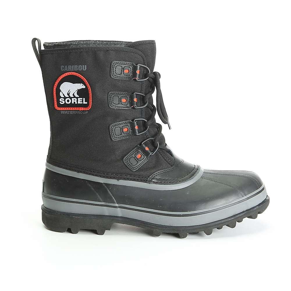 Sorel Men's Caribou XT Boot - 8 - Black / Shale