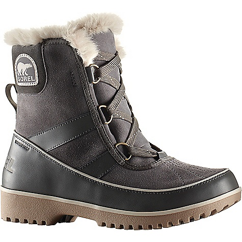 Sorel Women's Tivoli II Boot Quarry Sorel Women's Tivoli II Boot - Quarry - in stock now. FEATURES of the Sorel Women's Tivoli II Boot Waterproof suede leather upper Waterproof breathable membrane construction Fleece lining Insulation: 100g insulation Footbed: Removable molded EVA footbed, micro fleece top cover Midsole: Rubber Outsole: Molded rubber outsole
