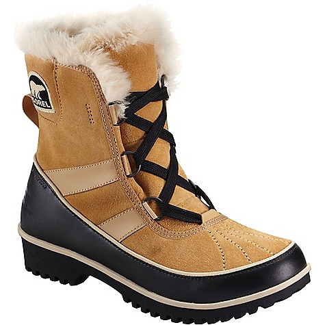 Sorel Women's Tivoli II Boot Curry Sorel Women's Tivoli II Boot - Curry - in stock now. FEATURES of the Sorel Women's Tivoli II Boot Waterproof suede leather upper Waterproof breathable membrane construction Fleece lining Insulation: 100g insulation Footbed: Removable molded EVA footbed, micro fleece top cover Midsole: Rubber Outsole: Molded rubber outsole