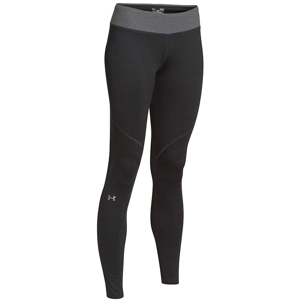 Under Armour Women's UA ColdGear Infrared Devo Legging - XL - Asphalt Heather / Steeple Gray
