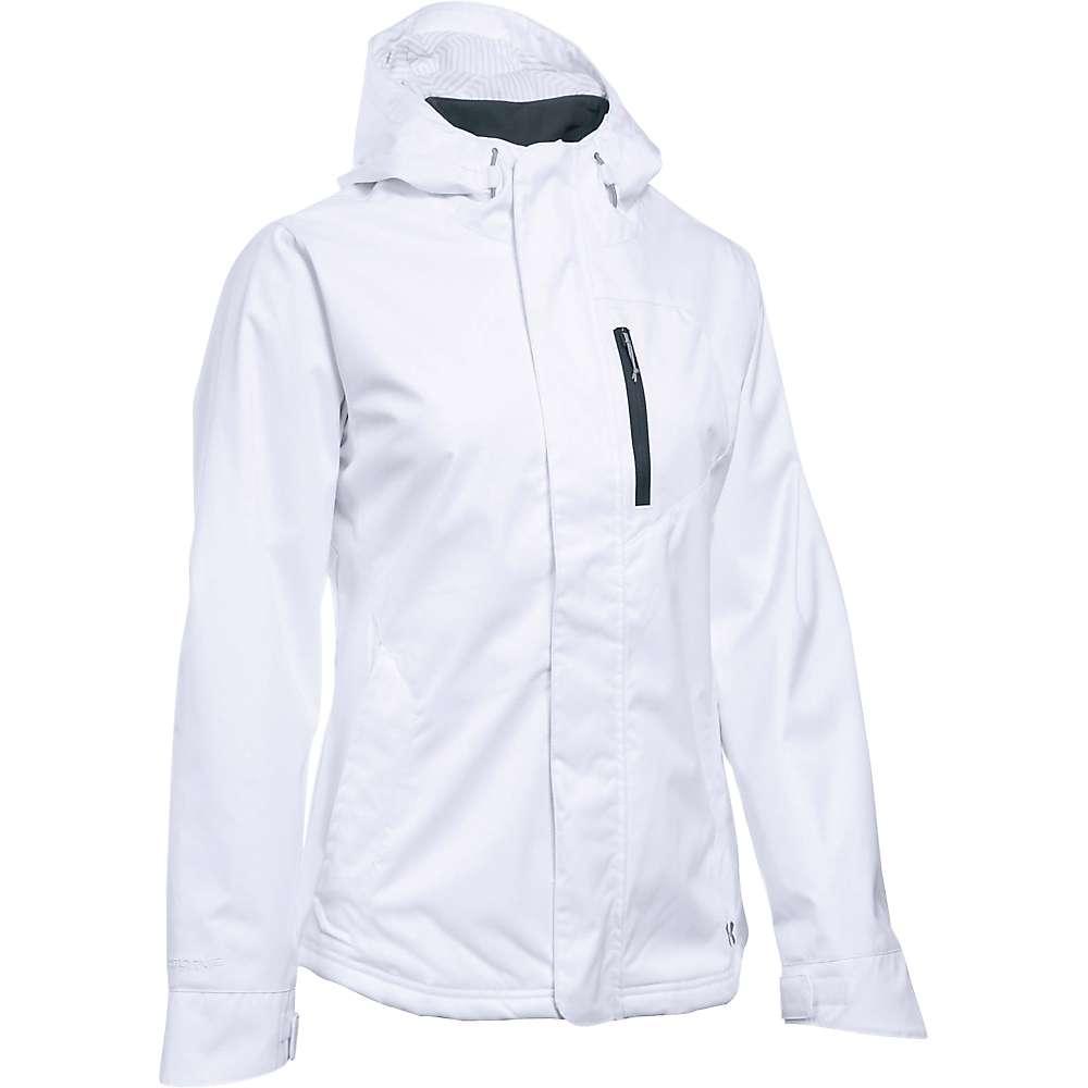 Under Armour Women's UA ColdGear Sienna 3 in 1 Jacket - Medium - White / Steel