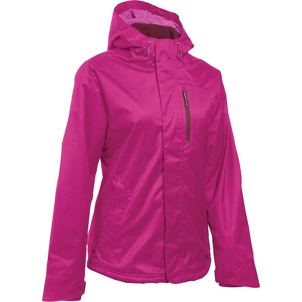 Under Armour Women's UA ColdGear Sienna 3 in 1 Jacket - Large - Magenta Shock / Stealth Grey