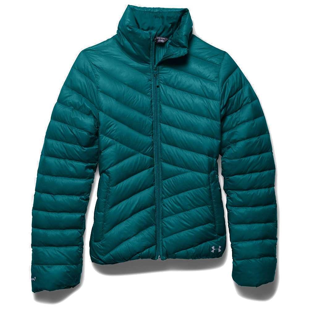 Under Armour Women's UA ColdGear Infrared Uptown Jacket - Large - Emerald Sari / Boulder