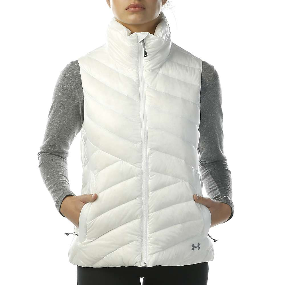 Under Armour Women's ColdGear Infrared Uptown Vest - Small - White / Steel