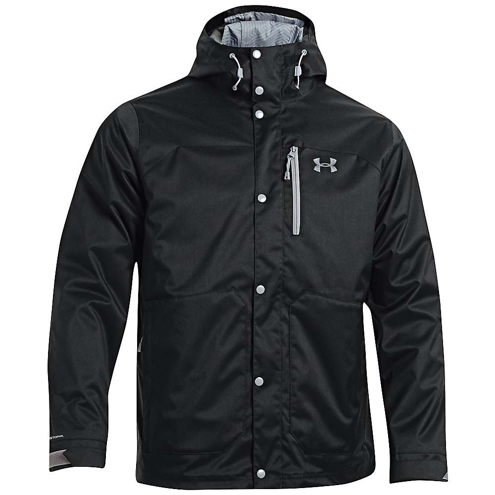 Under Armour Men's UA ColdGear Infrared Porter 3 in 1 Jacket - Small - Black / Steel