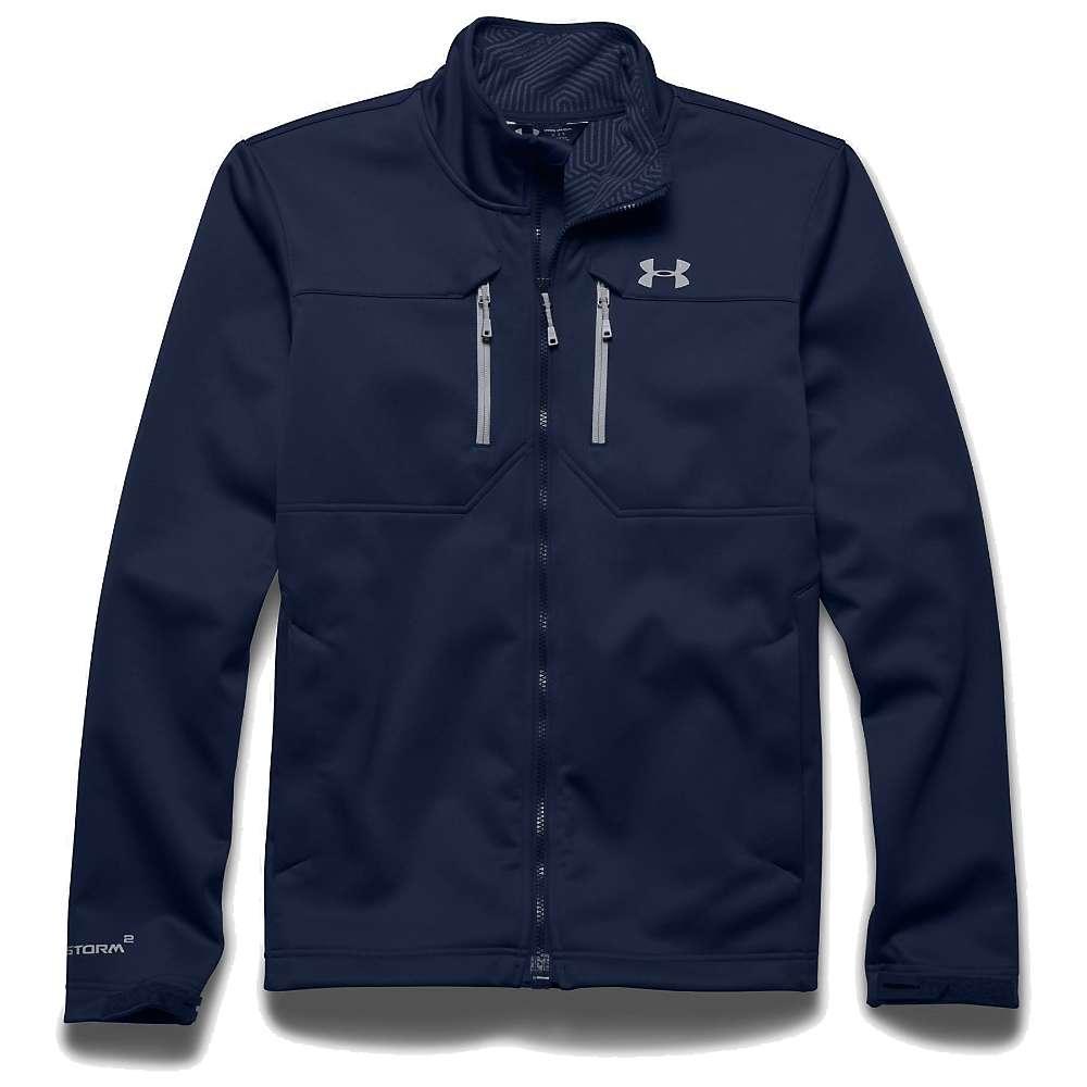 Under Armour Men's UA ColdGear Infrared Softershell Jacket - XXL - Academy / Steel