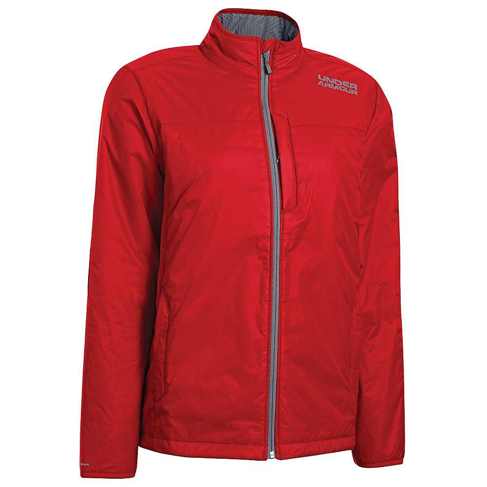 Under Armour Men's UA ColdGear Infrared Basen Jacket - 3XL - Risk Red / Steel