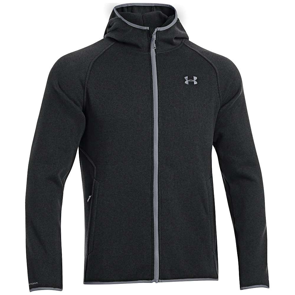 Under Armour Men's UA Forest FZ Hoody - Small - Black / Steel