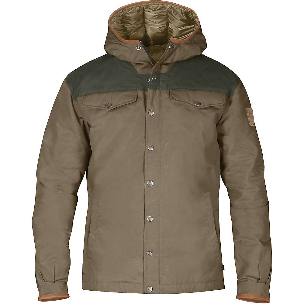 Fjallraven Men's Greenland No. 1 Down Jacket - Small - Taupe / Mountain Grey