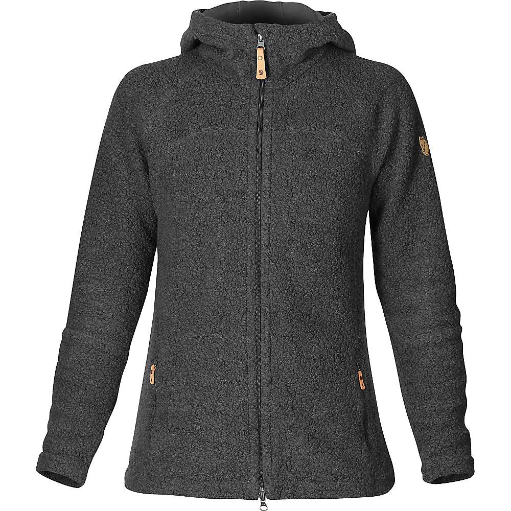 Fjallraven Women's Kaitum Fleece - Small - Dark Grey