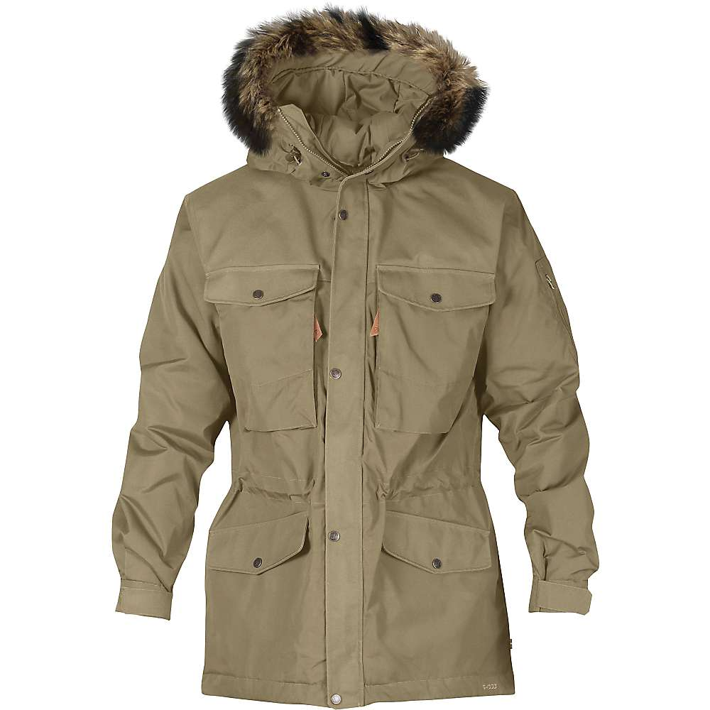 Fjallraven Men's Sarek Winter Jacket - Large - Sand
