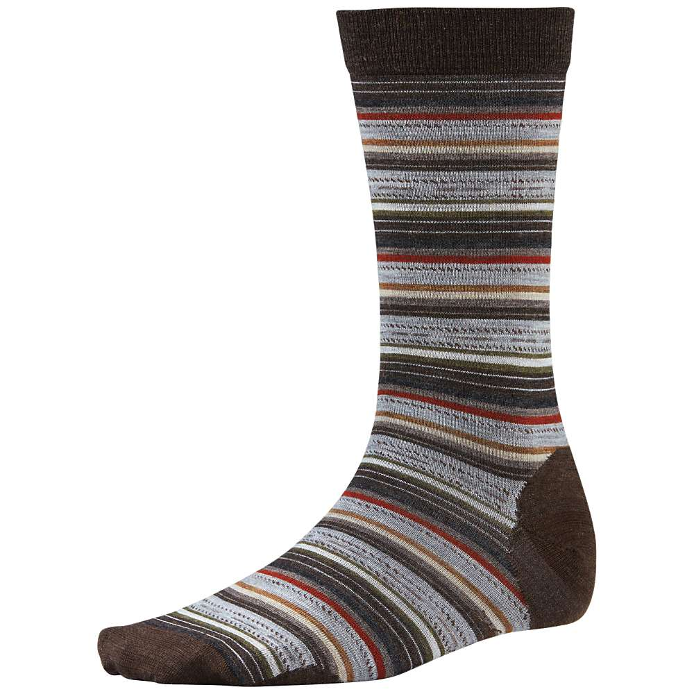 Smartwool Men's Margarita Sock - Large - Chestnut Heather