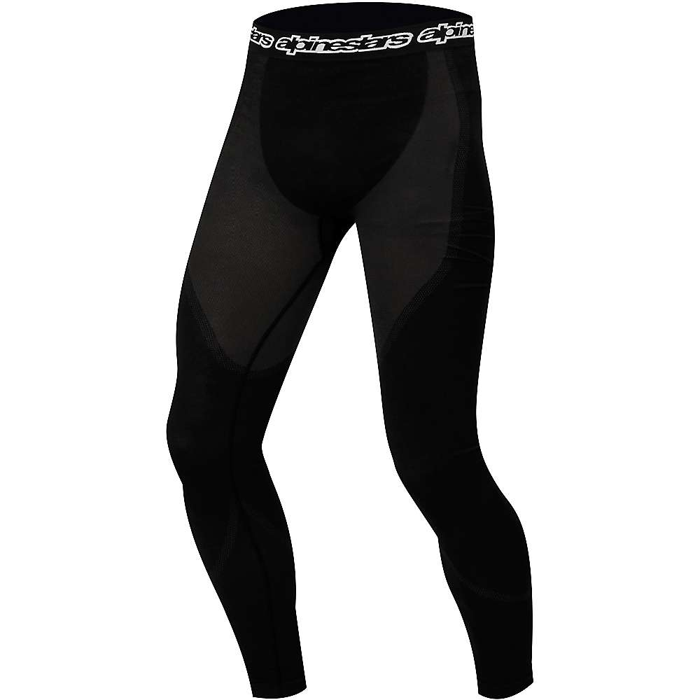 Alpine Stars Men's Long Pant Underwear - Large / XL - Black